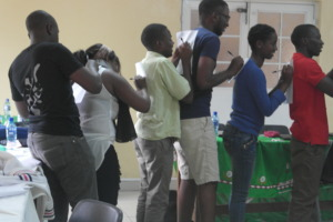 Learning through games at Chanco SWD Orientation