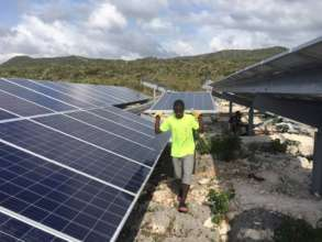 Apprenticeship begins at solar energy company