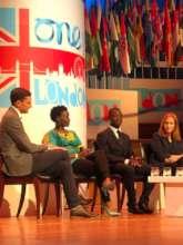 Sharing at World Summit in England