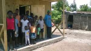 Home-building replacing makeshift shelters
