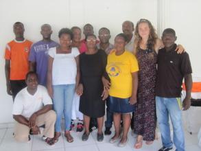 LFBS staff and Head of Haiti Operations, Morgan