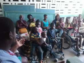 LFBS Medical Clinic for handicapped children
