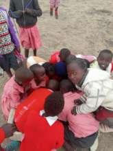 ECD children playing during class recess