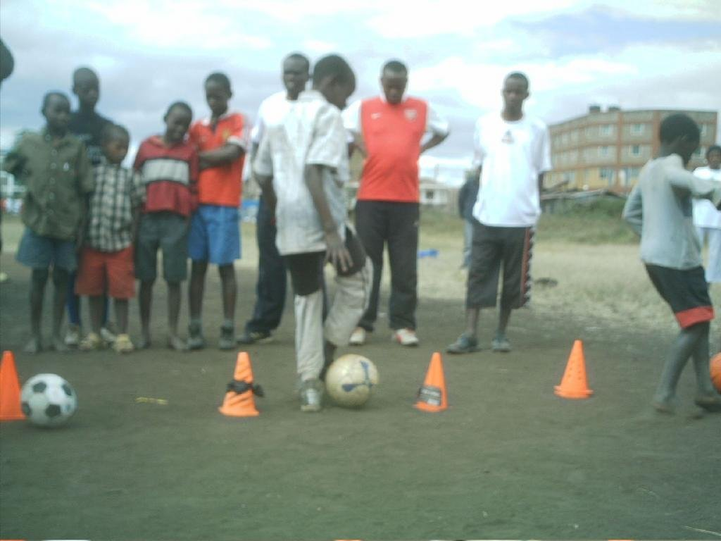 Using the power of soccer to fight HIV/AIDS - GlobalGiving