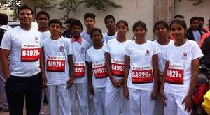 VIDYA School children in Delhi Half Marathon
