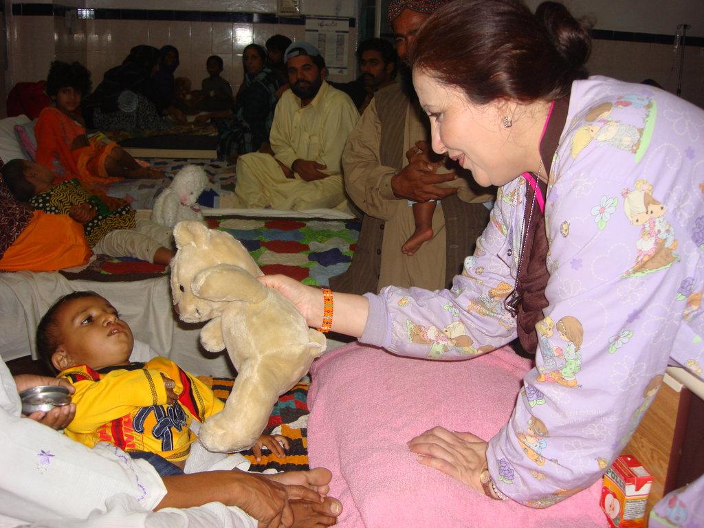 children burn treatment