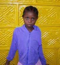 An Ebola Orphan - Girl