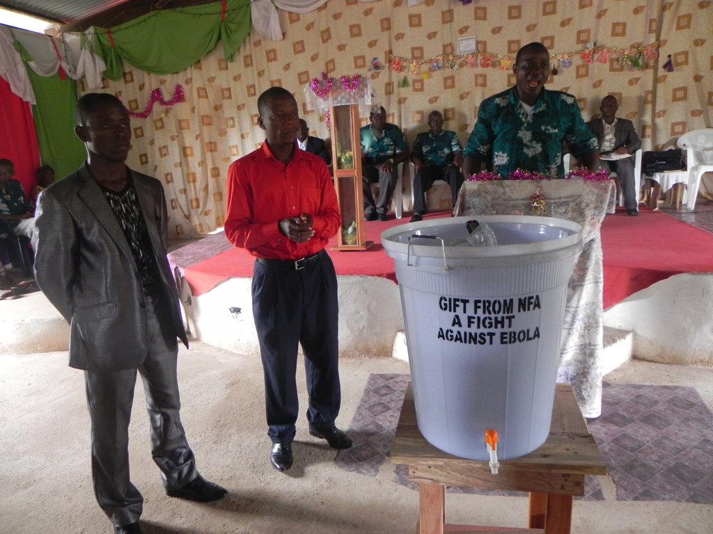 Community Education on Ebola Liberia