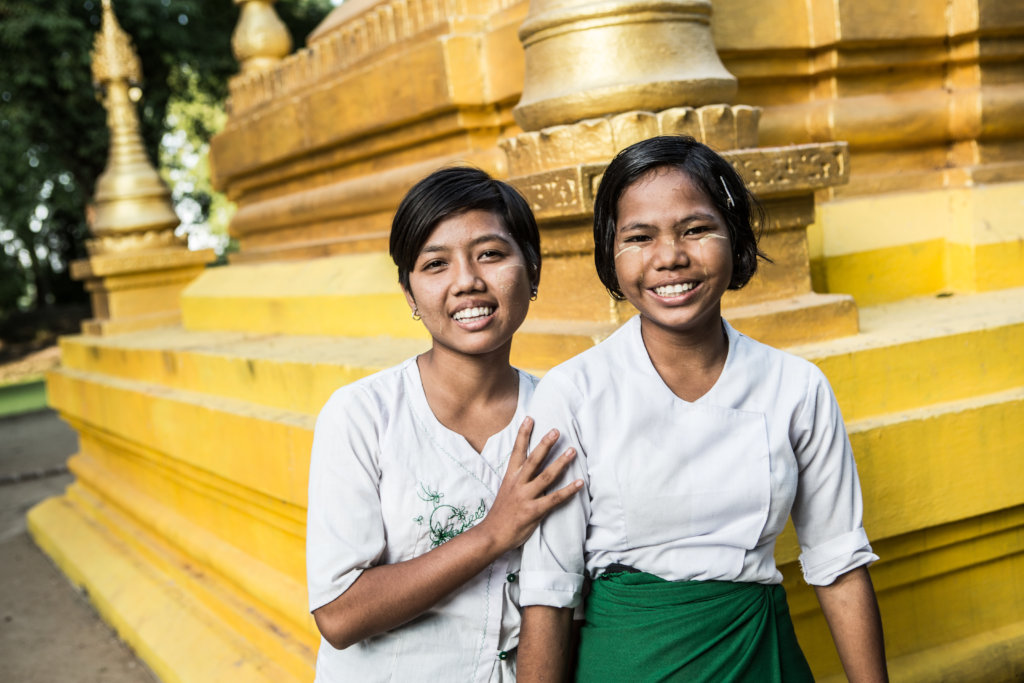 Build a girl leader in Myanmar