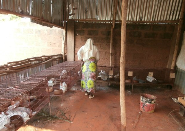 Daily Bread Farm for malnourished children - Benin