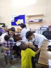 Dental camp for Umang beneficiaries.