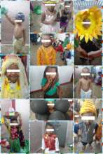 Umang beneficiaries during fancy dress celebration