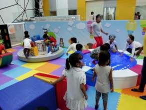 Umang beneficiaries playing at Yaya playzone.