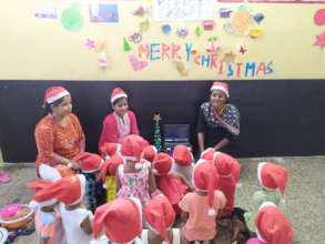 Christmas celebration with Umang beneficiaries