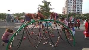 Wonder park visit with Umang beneficiaries.