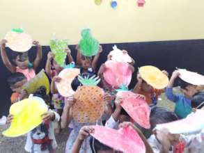 Fruit activity with Umang beneficiaries