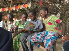 Children Reading Baby Finds Grace