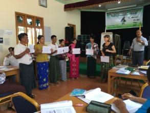 Training in Myanmar