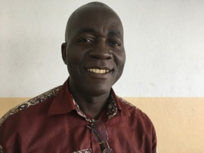 Andre is helping people in Cameroon