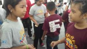 OTIY meeting other AMI Satellites' children
