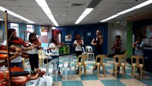 Violin Discipline with NYP Teaching Artist