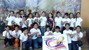 The Orchestra of the Talim Island Youth