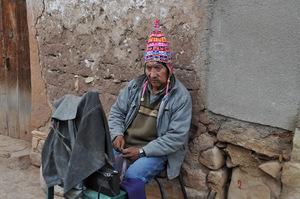 A man in Toro Toro