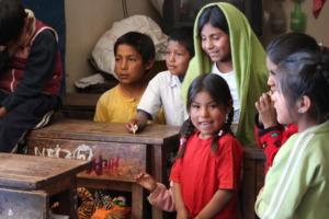 Children in Tunasari School
