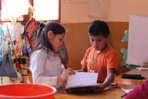 Students in Yambata