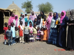 The women farmers and their families
