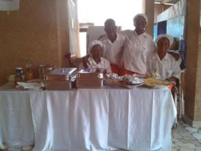 Some of TN's Catering Service ladies