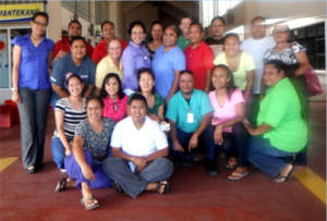 WBTi assessment core group from Palau(Oceania)