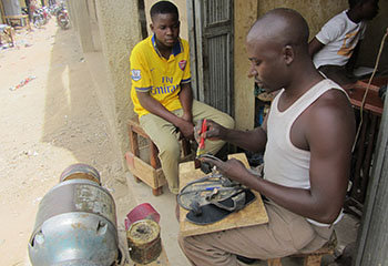 Create 1 Cobbling Shop and 8 Jobs for Orphans