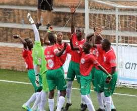 Burundi Celebrate Goal!