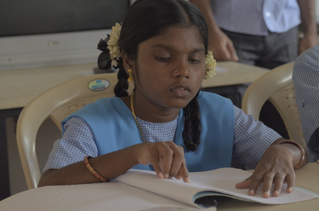 Braille books for 4000 visually challenged kids