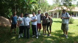 2012 Walk in the Nature event. 12 km. 67 walkers.