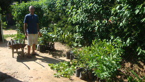 This project brought 167 saplings from him.