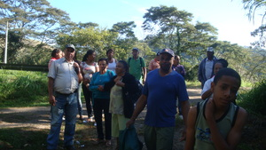 Cambota community visits Wildlife Sanctuary.