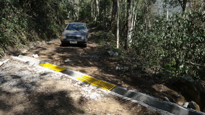 GlobalGiving funds were used to protect the road