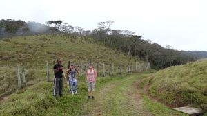 The road to Concordia Mountain Wildlife Sanctuary.