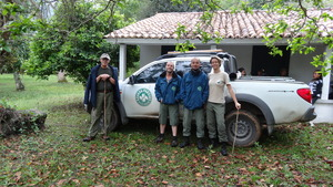 Park rangers support from Serra da Concordia Park.