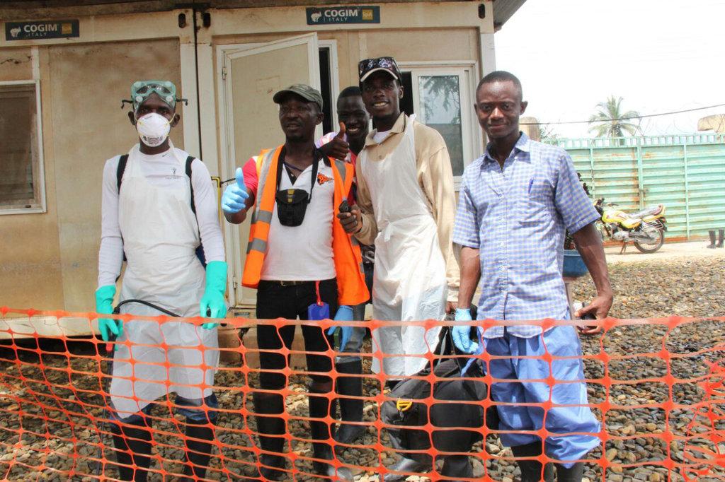 Survivors: a portrait of the Ebola crisis