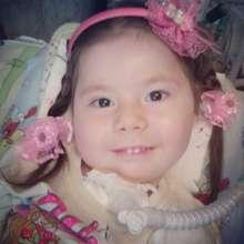 Alina, 3 years, Werdnig-Hoffmann Disease