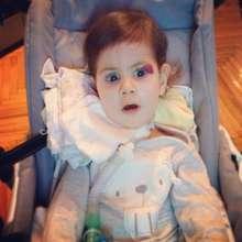 Emmy, 15 months, Werdnig-Hoffmann Disease