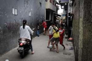 An alleyway in Jakarta (JP/Ben Latuihamallo)