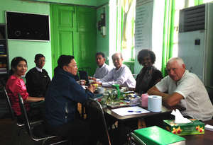 Meeting at the Yangon Justice Center