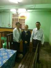 Program Dir. and Sr. Lawyer with local magistrate
