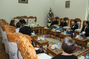 Meeting with Myanmar Attorney General and staff