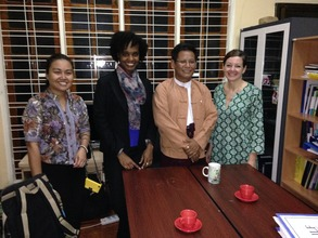 Meeting with the Myanmar Legal Aid Network