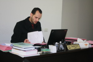 Lawyer Emad Salaymih, whose client was tortured